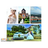 Caleruega Church Wedding Package with Taal overlooking Venue and More