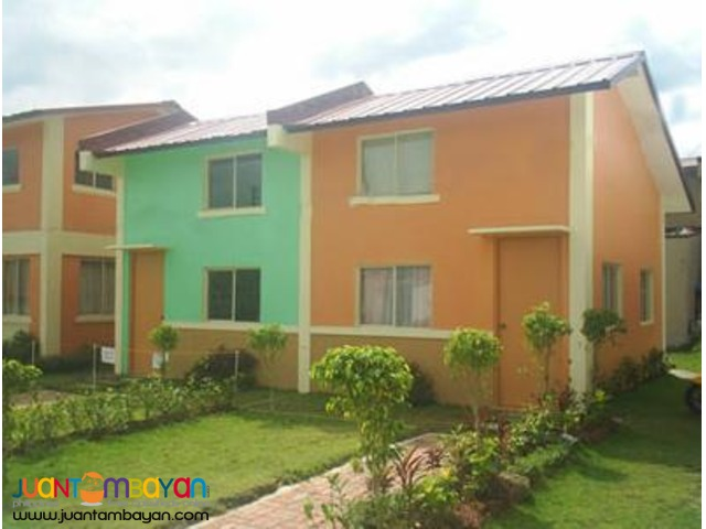 Rowhouse in Wellington Place Gen. Trias thru Pag-ibig Financing