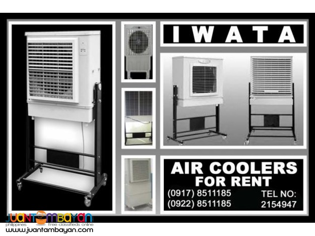 Iwata Aircooler Rental Hire Manila Philippines