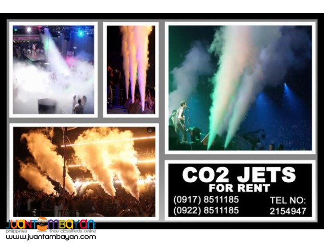 CO2 Jets Rental Hire Manila Philippines