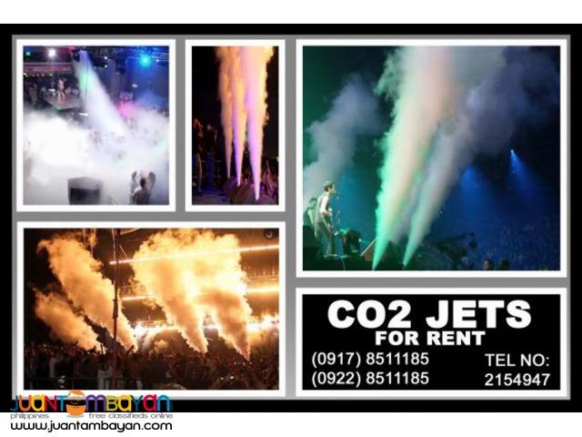 CO2 Jets Rental Hire Manila Philippines