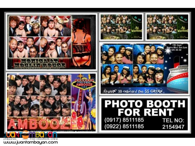 Photo Booth Rental Hire Manila Philippines