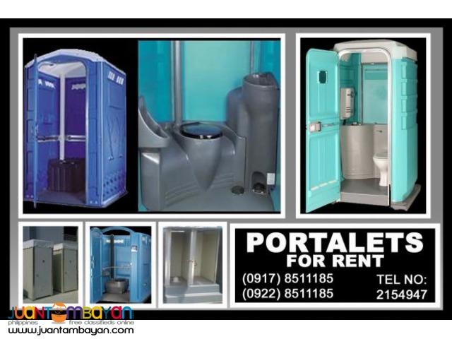 Portalets Rental Hire Manila Philippines