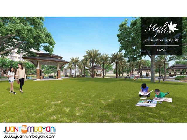 Acacia Estate Taguig Condo, Maple Place Php13k/mo! 2Br by DMCI Homes!