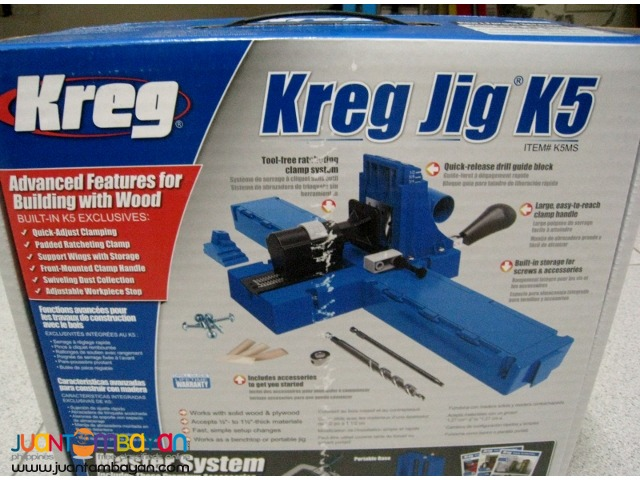 Kreg K5MS  Pocket Hole Jig Master System
