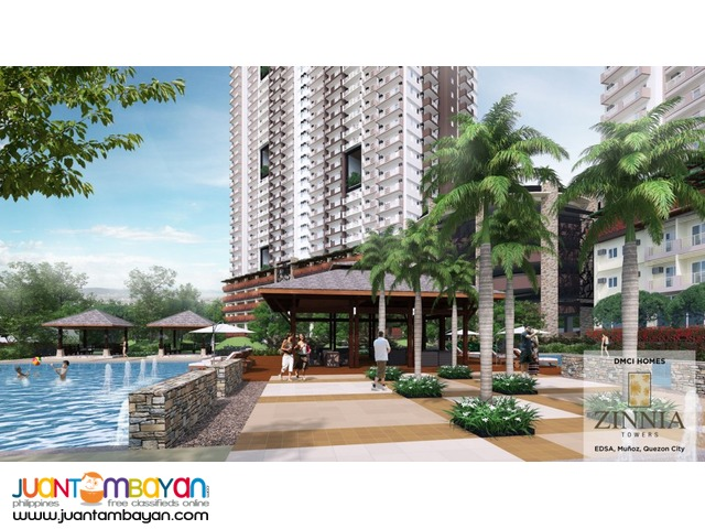 Quezon City Condo Zinnia Towers near SM North & Trinoma!
