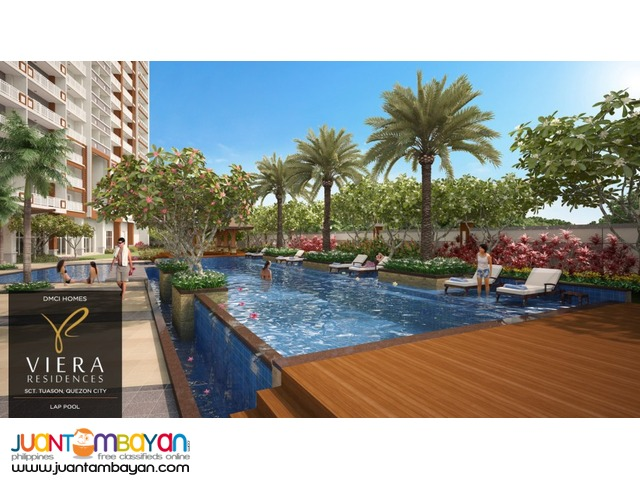 QC, Quezon City Condo near ABS-CBN, GMA7 & Timog Viera Residences!