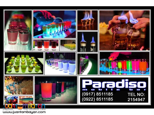 Paradiso Mobile Bar Rental Hire Manila Philippines