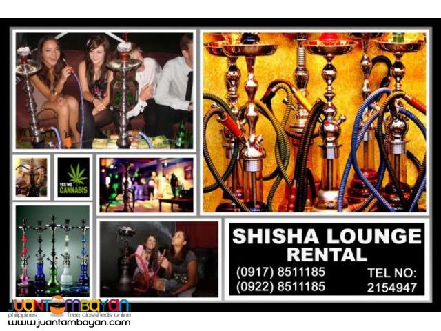 Shisha Lounge Rental Hire Manila Philippines
