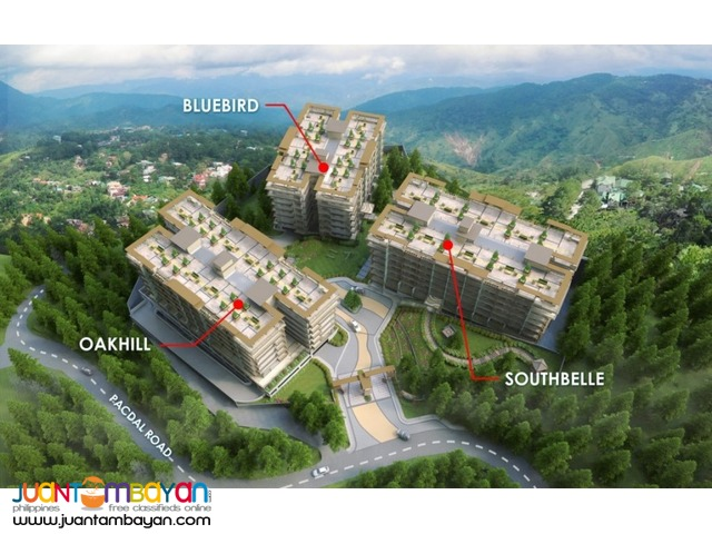 Condo in Baguio Bristle Ridge by DMCI Php10k/mo!