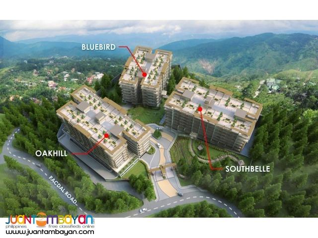 Condo in Baguio Bristle Ridge by DMCI Php10k/mo!
