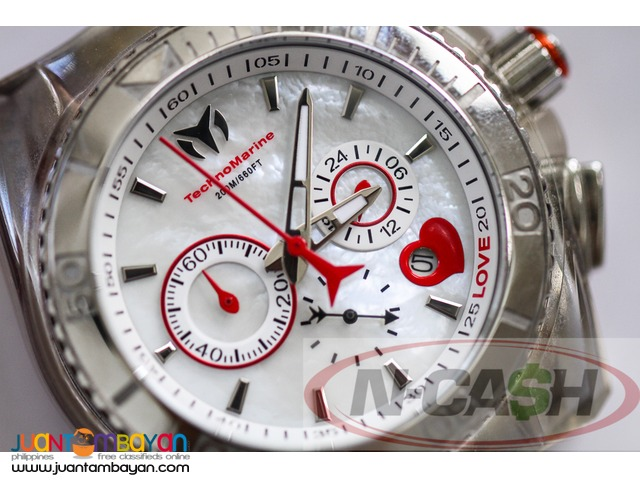 "Watch Pawnshop by N-CASH - Technomarine Cruise Original ""Love"" 112039"