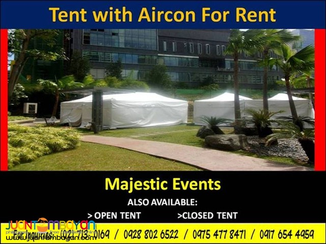 Aircon Tent for Rent