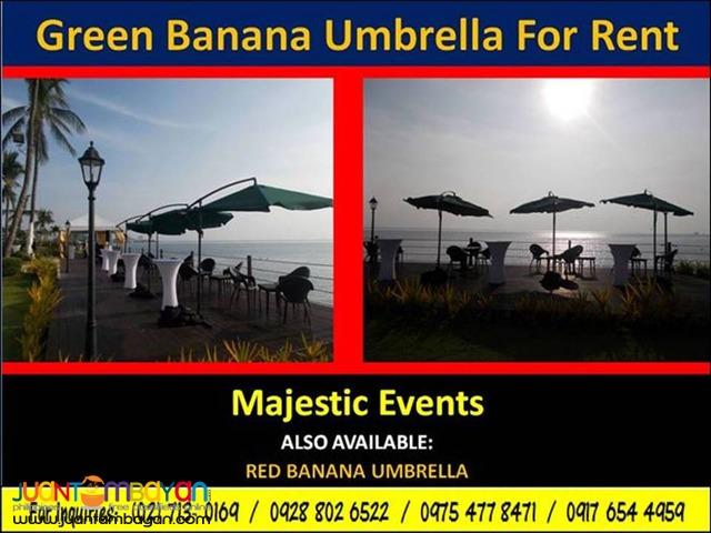 Banana Umbrella For Rent