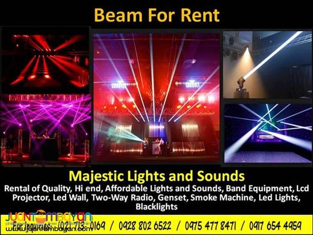 Beam Lights for Rent