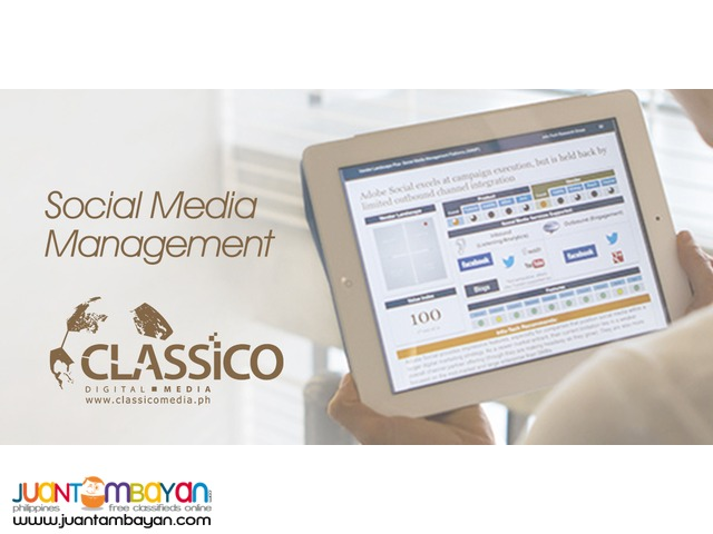 Management Services and Social Media Marketing, Digital Marketing