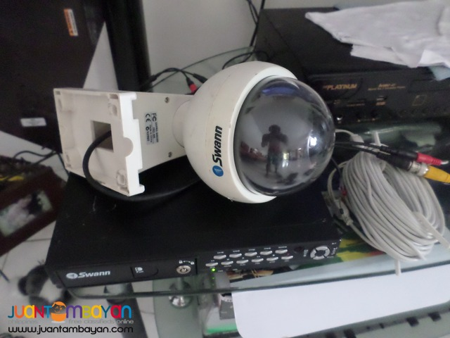 cctv swann recorder and 1 swann dome camera 2nd hand