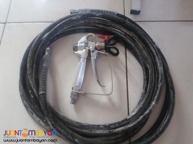 airless spray gun 220v 3500psi 2nd hand