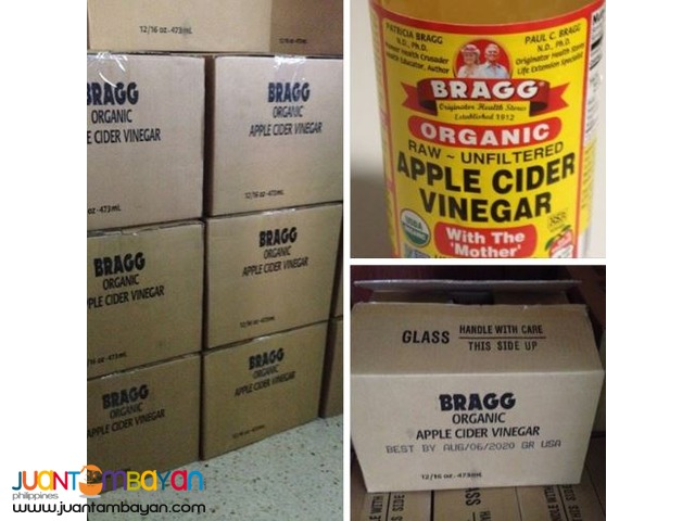 Apple Cider Vinegar (Bragg) - Php250