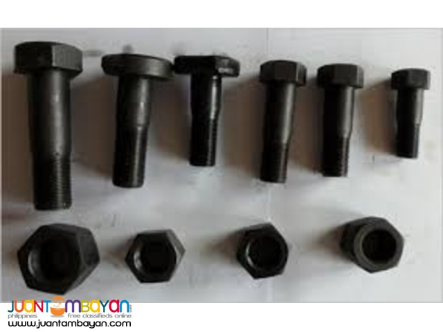 Bolts and Nuts Hi Tensil