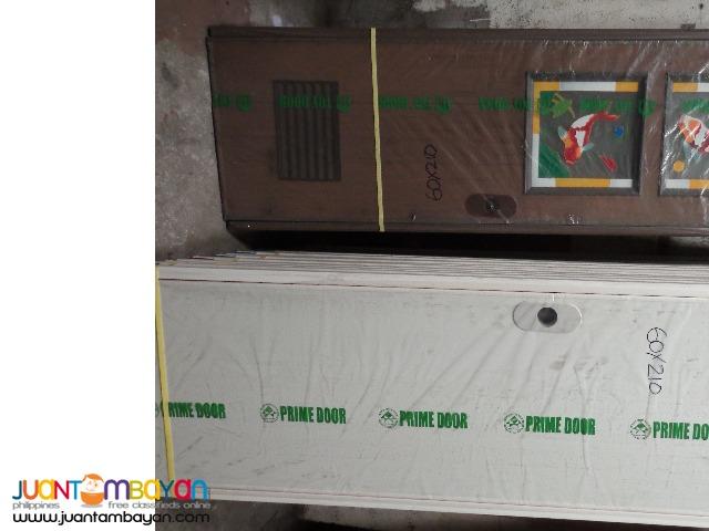 Pvc Door with Jamb and door Pad