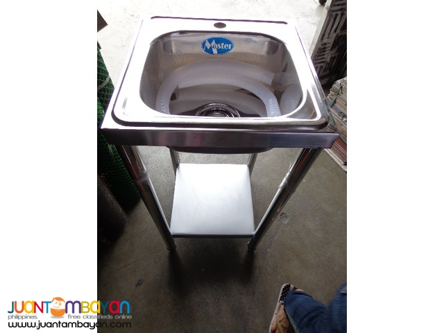 Kitchen Sink Stainless with Stand