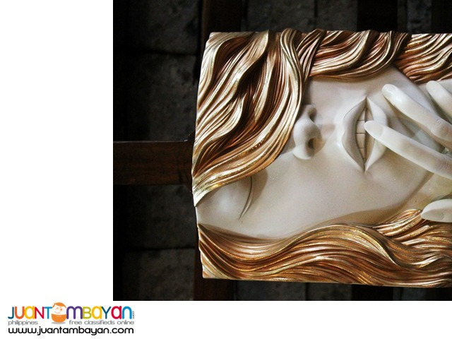 Wall Decor 3D frame Faces