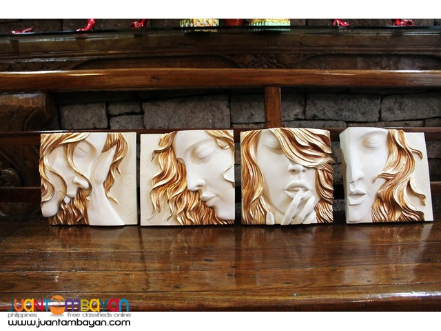Wall Decor 3D frame Faces