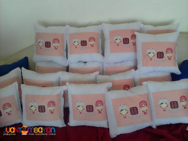 Birthday Giveaway customized pillow