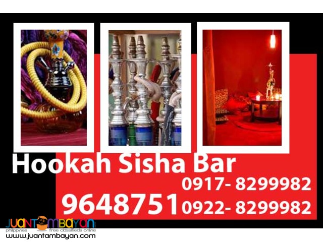 Hookah Shisha Bar Rental Hire Manila Philippines
