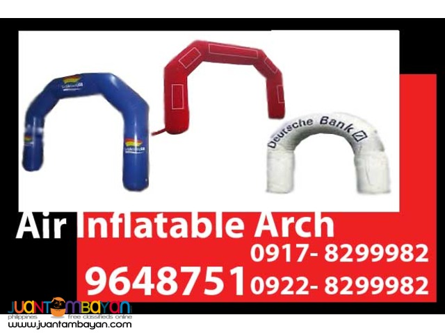 Air Inflatable Arch Rental Hire Manila Philippines