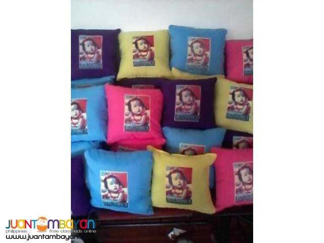 Baptismal Giveaway,Birthday Giveaway  Customized Pillow