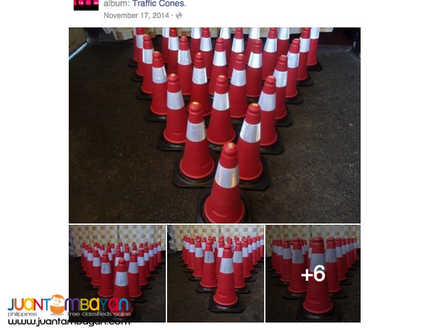 Traffic Cones for rent package of 100