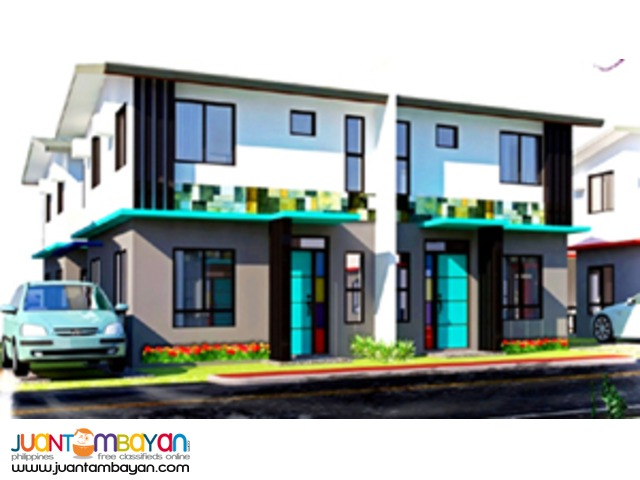 Twinhomes Executive model in Nostalji Enclave Dasmarinas Cavite
