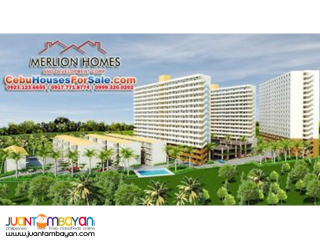 OWN A 2 Bedroom CONDO now in MACTAN at ONLY   P5,555