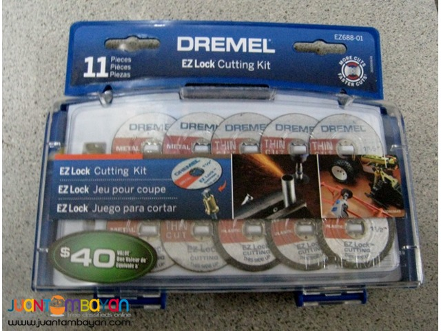Dremel EZ688-01 EZ Lock Mini Cutting Kit for Metal and Plastic