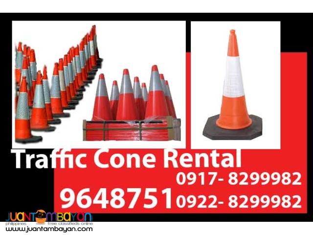 Traffic Cone Rental Hire Manila Philippines