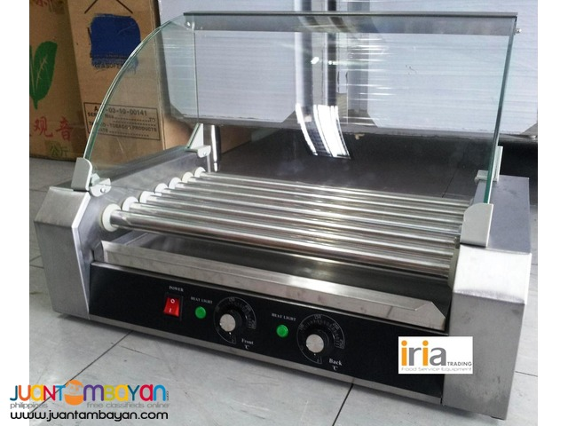 HOTDOG ROLLER / HOTDOG GRILLER w/ Glass Cover for SALE!!!