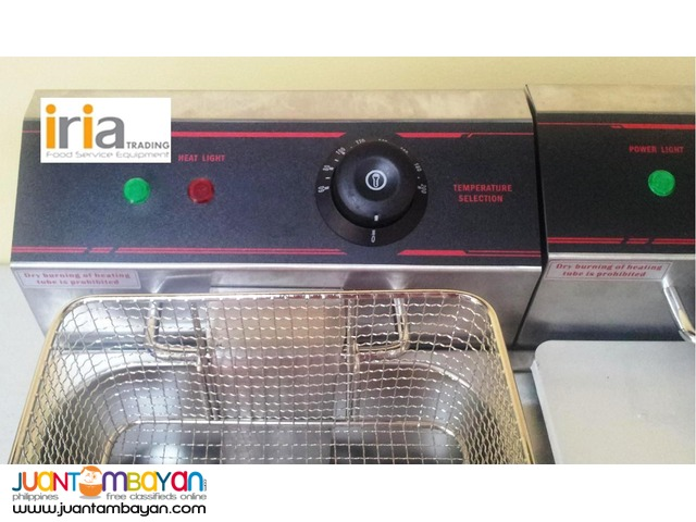 ELECTRIC DOUBLE DEEP FRYER for SALE!!!