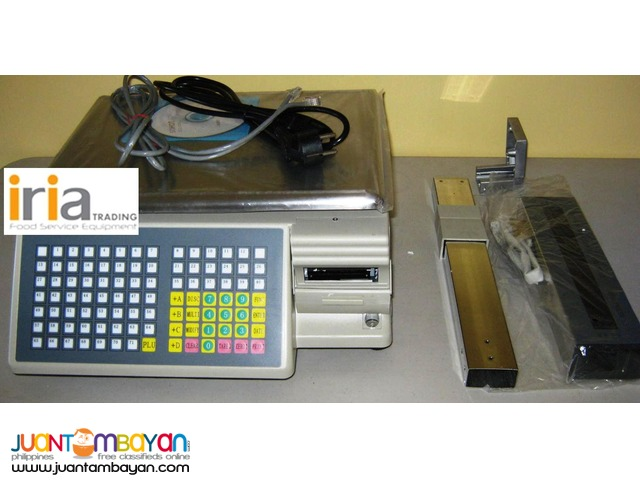 WEIGHING SCALE with BARCODE PRINTING for SALE!!!