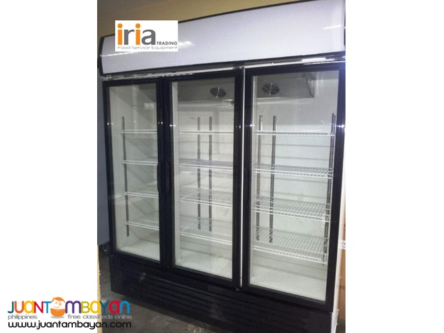 UPRIGHT CHILLER DISPLAY SHOWCASE (3Doors)   for SALE!!!