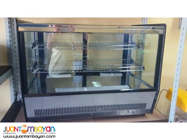 CAKE CHILLER SHOWCASE (Countertop, Square-shaped) for SALE!!!