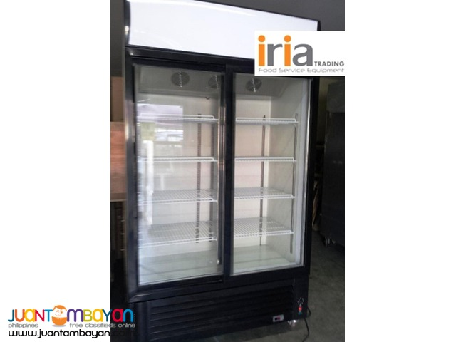 UPRIGHT CHILLER DISPLAY SHOWCASE (2 Doors)