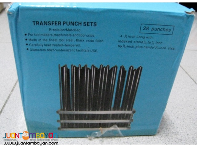 iGaging 28-piece Transfer Punch Set
