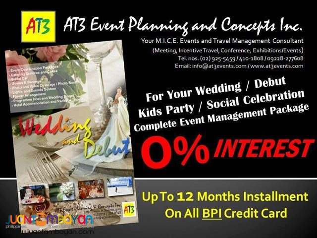 Events Management and Social Celebrations