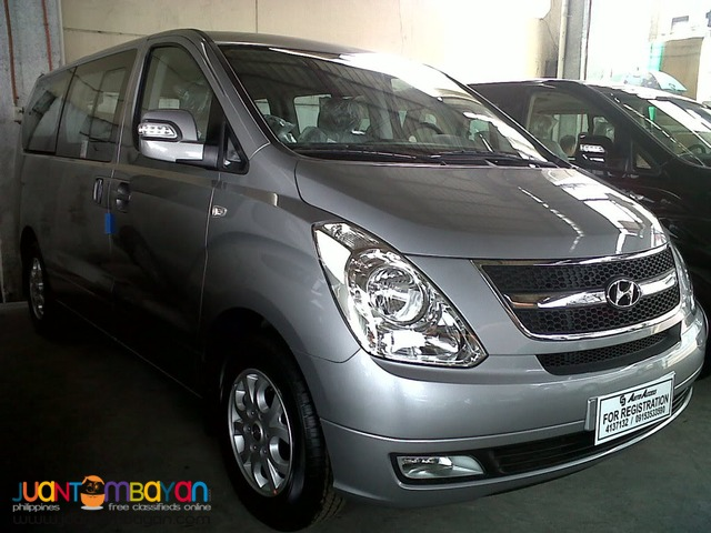 rent a car 'Hyundai Starex'