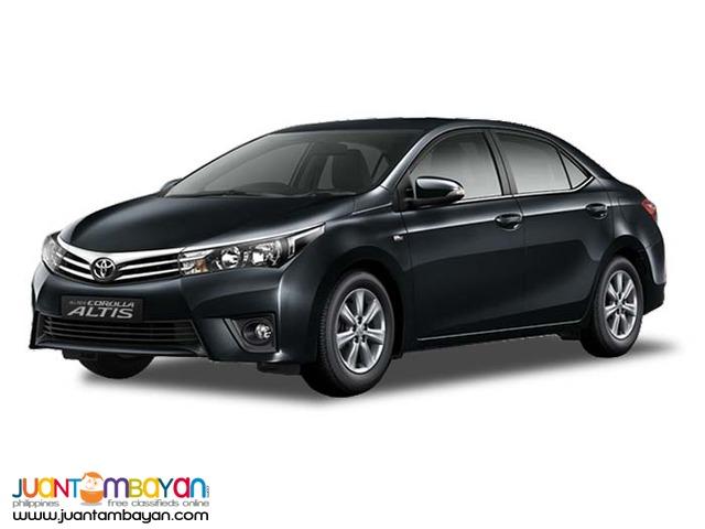 Toyota Altis Sedan For Rent