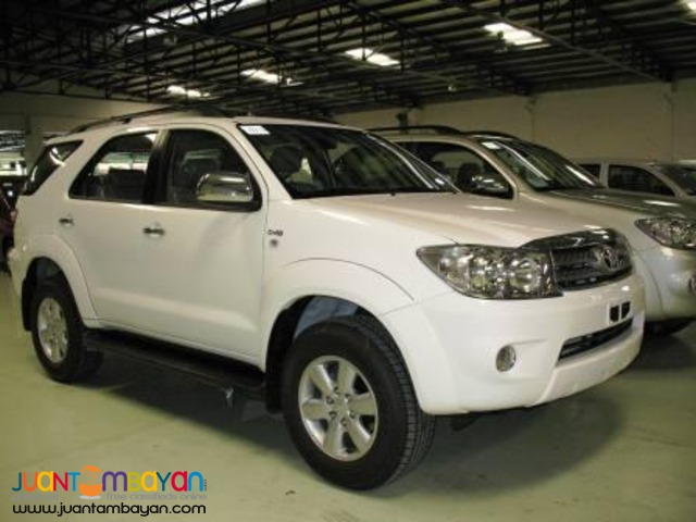 rent a car 'Fortuner'