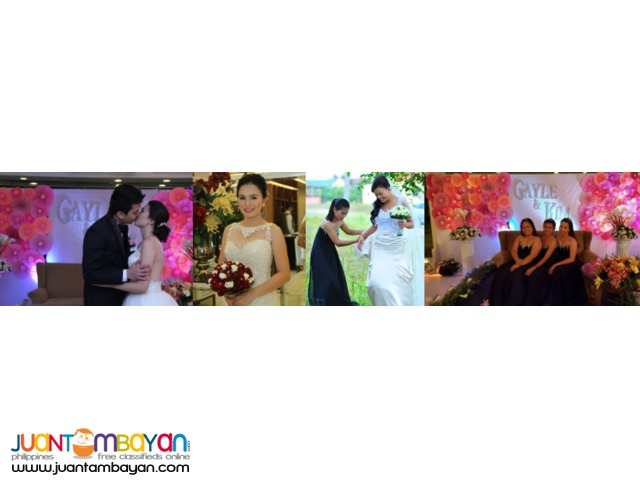 MANILA AND TAGAYTAY WEDDING PACKAGES