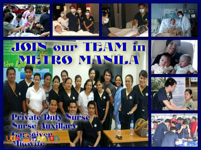 Private Duty Nurse/Caregiver/Midwives Hiring